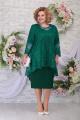 Блуза, Платье Ninele 5842 изумруд