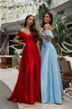 Платье Lady Lusso 03-19 голубой