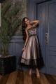 Платье Lady Lusso 14-19 пудра