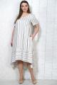 Платье Белтрикотаж 7750 полоска