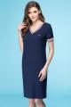 Платье Линия Л Б-1638 т.синий