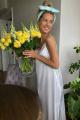 Платье LaVeLa L10184 молочный