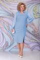 Платье Ninele 7295 голубой