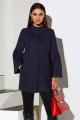 Пальто Lissana 3933 темно-синий