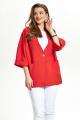 Женский костюм TEZA 886 красный-белый