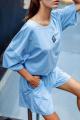 Футболка Rawwwr clothing 166 голубой