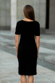 Платье JKY D-038 черный