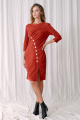 Платье Fantazia Mod 3626 терракот