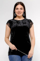 Блуза La rouge 6122 черный