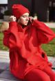 Шапка Rawwwr clothing 060 красный