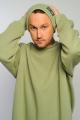 Шапка Rawwwr clothing 059 оливковый