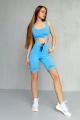 Велосипедки Rawwwr clothing 094 голубой