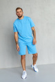 Футболка Rawwwr clothing 160/1 голубой