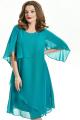 Платье TEZA 722 бирюза