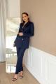 Женский костюм Temper 301 темно-синий