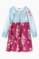 Платье Bell Bimbo 202056 джинс/набивка