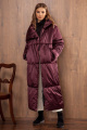 Пальто Nova Line 10064 марсала