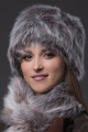 Шапка Зима Фэшн 011-7-30 коричневый_под_зайца