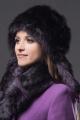 Шапка Зима Фэшн 022-4-19 фиолетовый_под_лису