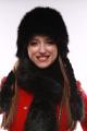 Шапка Зима Фэшн 023-4-21 черный_под_лису