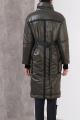 Пальто Favorini 31011 хаки