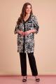 Брюки, Блуза Liona Style 637 черный
