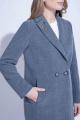 Пальто ElectraStyle 3-6061-128 серый меланж