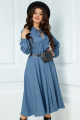 Платье Anastasia 503 серо-голубой
