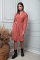 Платье SandyNa 13861 терракот