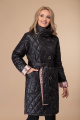 Пальто Svetlana-Style 1458 черный+розовый