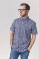 Рубашка Nadex 923035И_ 170 голубо-синий