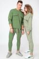 Спортивный костюм HIT 0314 светло-зелёный