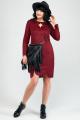 Платье La rouge 52180 бордо