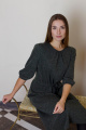 Платье VG Collection 167 серо-зеленый