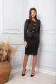 Платье SandyNa 13866 черный