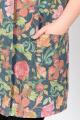 Жилет La rouge 29500 серо-зеленый-(цветы)