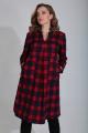 Платье MALI 420-109 красная_клетка