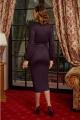 Платье Lissana 4176 ежевика