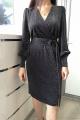 Платье Achosa 1340 черный