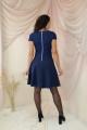Платье Juliet Style Д101 синий