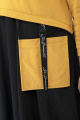 Платье Кэтисбел 1520 горчица