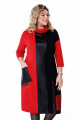 Платье Pretty 1202 черный-красный