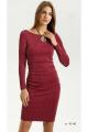 Платье Vladini 4139 бордо