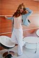 Куртка Avenue Fashion 801 голубой