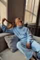 Брюки Rawwwr clothing 126 голубой
