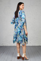Платье Almila-Lux 1007 бирюзовый