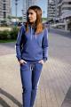 Брюки,Худи Almila-Lux 1067 синий