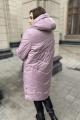 Пальто Ольга Стиль С-699 сирень