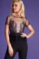 Блуза, Топ LaVeLa L50179 черный