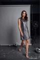 Платье Rami 5064 серебро